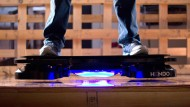 Mit dem Skateboard fliegen wie in Zurück in die Zukunft