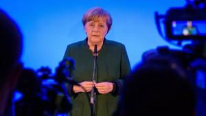 Merkel kämpft für Maß und Mitte im Wahlkampf