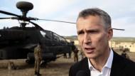Nato-Generalsekretär: kein Säbelrasseln
