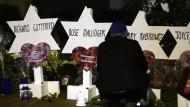 Trauer um die Opfer des Anschlages in Pittsburgh