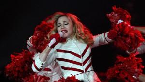 Madonna sinkt in Russland
