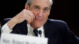 Trumps Leute wollen Sonderermittler Mueller loswerden