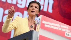 """Wagenknecht startet linke Sammlungsbewegung """"Aufstehen"""""""