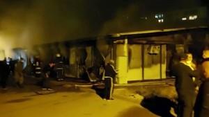 14 Tote nach Brand in Covid-Spital in Nordmazedonien