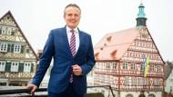 Frank Nopper will ins Stuttgarter Rathaus einziehen.