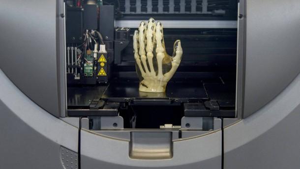 Die ersten 3D-Teile gehen in die Luft