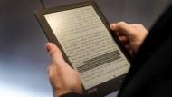 Fragiler Buchstabenspeicher: das E-Book
