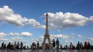 Tourismus in Paris wieder im Aufwind