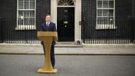 Muss David Cameron gehen? Diese Frage macht jetzt auch die Anleger nervös.