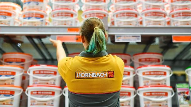 Hornbach macht sonntags auf