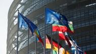 Das Europaparlament in Straßburg. Ende Mai wird gewählt.