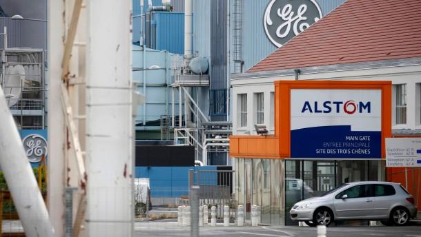 Alstom stürmt mit Wunschpartner GE voran