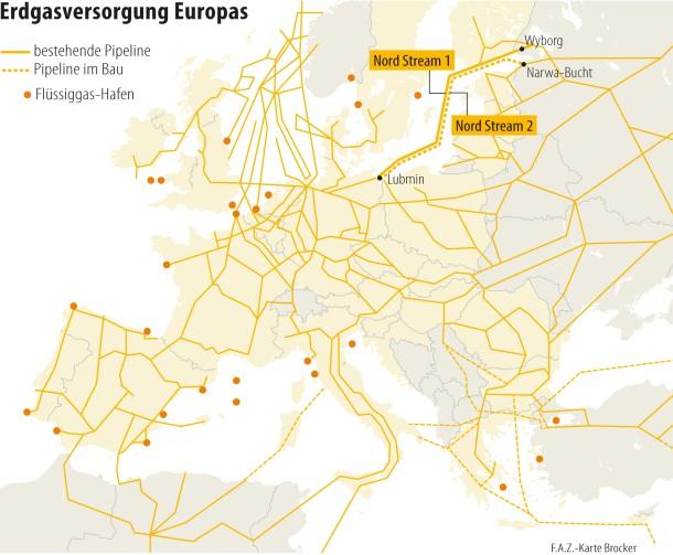 Nord Stream 2 Karte.Bilderstrecke Zu Pipeline Nord Stream 2 Doppelt So Viel