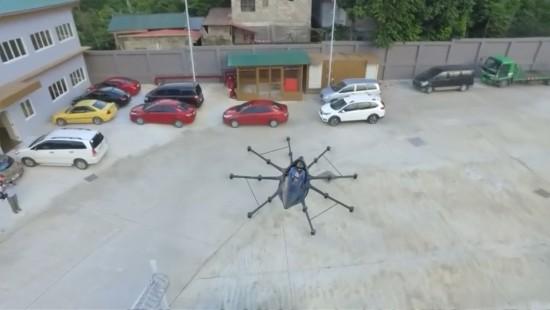 Wie ein fliegender Sportwagen