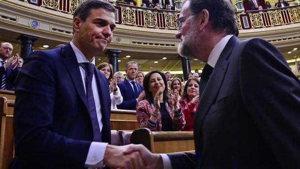 Pedro Sánchez folgt auf gestürzten Ministerpräsidenten Rajoy