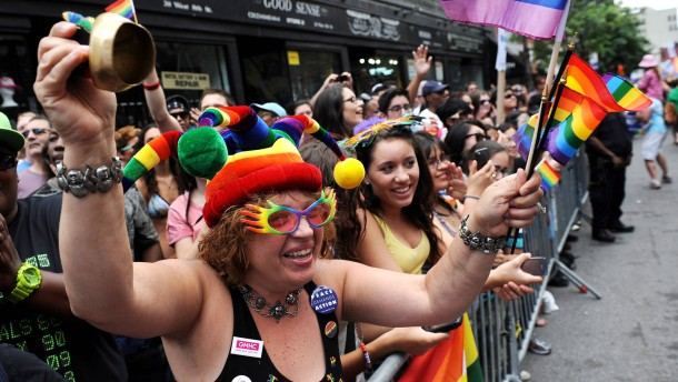 US-Gericht verbietet Diskriminierung von Homo-Ehen