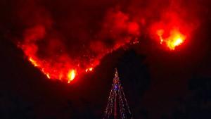 Flächenbrand in Kalifornien breitet sich weiter aus
