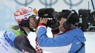 Die Bilder der kommenden Winterspiele werden nicht im öffentlich-rechtlichen Fernsehen gezeigt.