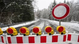 Wieder Straßensperren am Feldberg