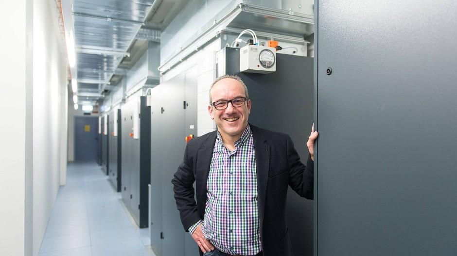 Pionier: Telehouse-Chef Waldhauser hat schon vor Jahren ein Projekt mit Abwärme-Nutzung in Frankfurt angekündigt