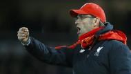 Klopp und Liverpool verlieren in letzter Sekunde
