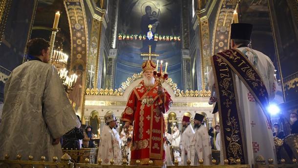 Orthodoxe Christen feiern Ostern in der Corona-Krise