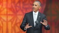 Obama eröffnet erstes Afroamerikanisches Museum