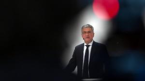 Audi-Chef soll Mitarbeiter zu geschönter Präsentation gedrängt haben
