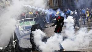 Proteste in Kolumbien halten an