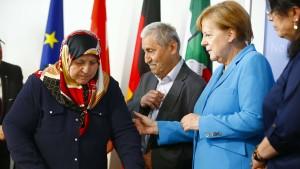 Merkel warnt vor rechten Tabubrüchen