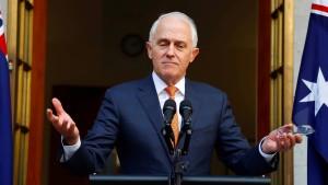 Premierminister Malcom Turnbull gestürzt