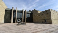 Orte der Raubkunst-Debatte: Die Münchner Pinakotheken, hier das Gebäude der Neuen Pinakothek.