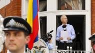 Die Videoerklärung von Assange im Livestream