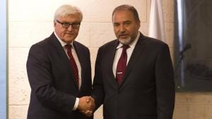 Lieberman fordert deutsche Inspektoren in Gaza