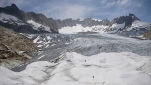 Viele Gletscher sind nicht mehr zu retten