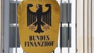 Schild am Bundesfinanzhof