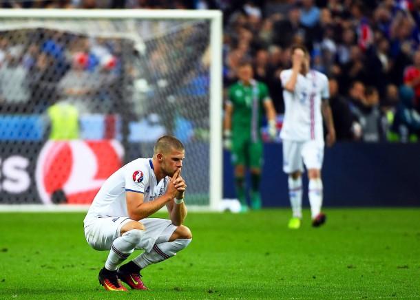 Bilderstrecke Zu Frankreich Besiegt Island Und Trifft Im Halbfinale