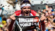 Geschafft: Frodeno bei seinem Ironman-Sieg im vergangenen Jahr