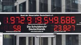 Ein Schuldenberg von 233 Billionen Dollar