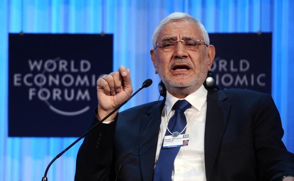 Islamist mit liberalem Anstrich: Abd al Monem Abul Futuh auf dem Weltwirtschaftsforum in Davos im Januar 2012