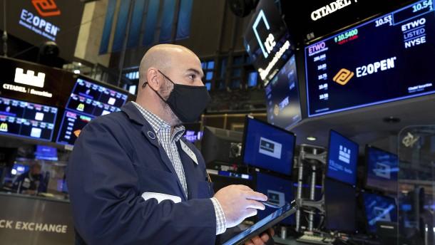 Konjunkturprogramm katapultiert Amerikas Börsen auf Rekordhoch