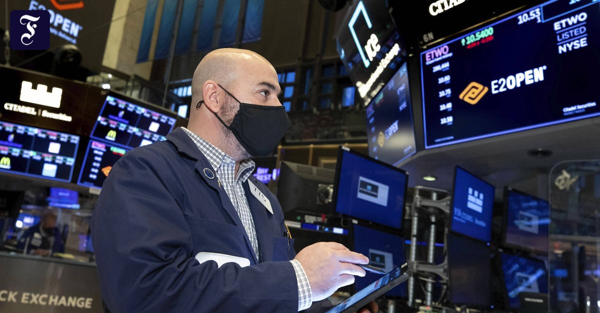 Konjunkturprogramm katapultiert Amerikas Börsen auf Rekordhoch - FAZ - Frankfurter Allgemeine Zeitung