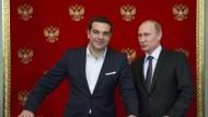 Die Lehren aus dem Tsipras-Besuch im Kreml