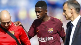 Barca-Trainer gibt Dembélé Mitschuld an Verletzung