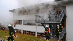Betreuerin soll Feuer versehentlich ausgelöst haben