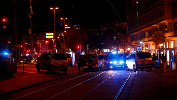 Terroranschlag vor Synagoge in Wien