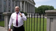Bundeswirtschaftsminister Peter Altmaier in Amerika
