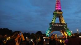 Der Eiffelturm feiert 300 Millionen Besucher
