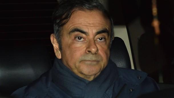 Carlos Ghosn flieht aus Japan in den Libanon