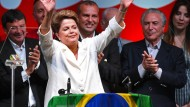 Alte und neue Präsidentin Brasiliens: Dilma Rousseff nach ihrem Wahlsieg